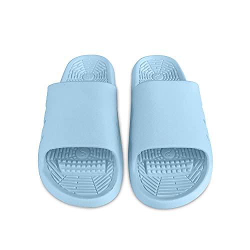 MLLM Zapatos de piscina de suela de espuma suave, zapatillas de pareja ultra suaves; hotel anti-arena-O_39, sandalias de ducha playa y piscina diapositivas