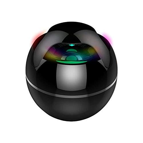 Bocina Bluetooth Portatil Altavoz portátil Bluetooth, Bluetooth doble emparejamiento Loud Mini Altavoz inalámbrico, 360 HD de sonido envolvente estéreo bajo Rich, a prueba de agua for el viaje, hogar
