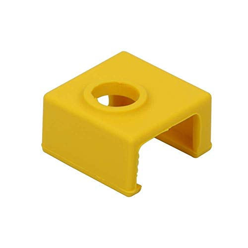 YASE-king 3D Printer Parts, 3D Printer Part Hotend MK9 Silicone Protective Case for Heating Aluminum Block