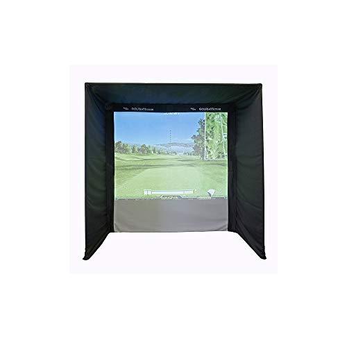 EasySim ゴルフシミュレーターエンクロージャ 2.5 x 2.5 x 1.3m