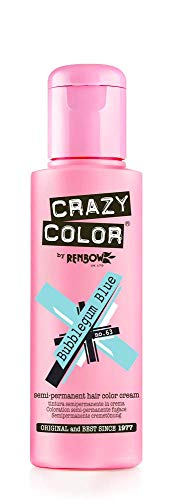 Crazy Color by Renbow 63 Bubblegum Blue 100 ml