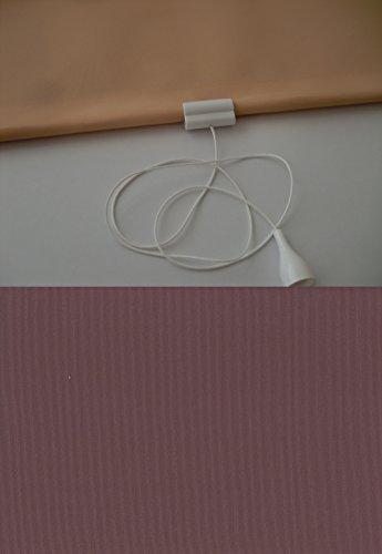JalousieCrew Verdunkelungsrollo Springrollo Schnapprollo Rollo Brombeere lila Breite 60-200 cm Länge 180 cm Blickdicht Blickschutz (120 x 180 cm)