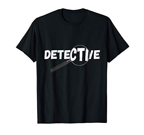 Privat Detektiv Spion Spionieren Spionage Agenten Ermittler T-Shirt