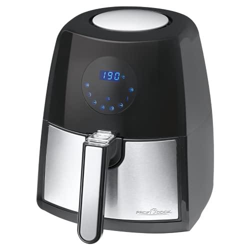 ProfiCook PC-FR 1147 H - Friggitrice ad aria calda, senza olio e grassi, 7 programmi di frittura + un programma di tempo variabile