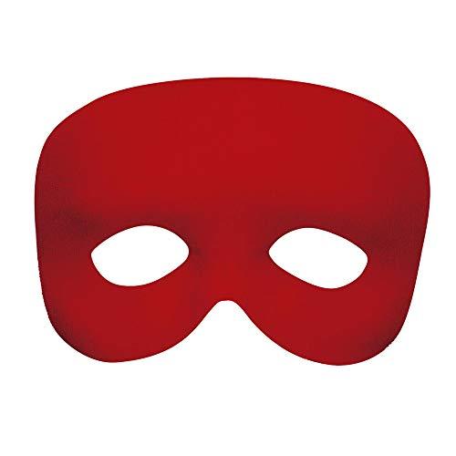 Widmann Demi-Masque Rouge Adulte