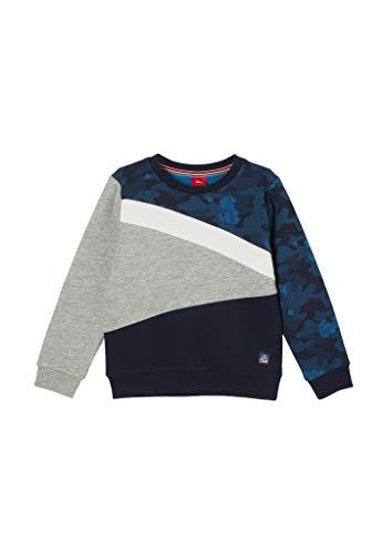 s.Oliver Junior Jungen 404.10.011.14.140.2054463 Sweatshirt, 9400, 92/98.REG