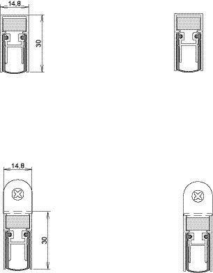 Athmer Schall-Ex Duo L-15 WS | Ausführung: beidseitige Auslösung | Länge (mm): 958 | Typ: Duo L-15 WS