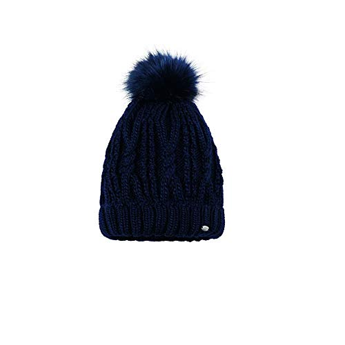 Pikeur Hat with Bobble Dark Navy