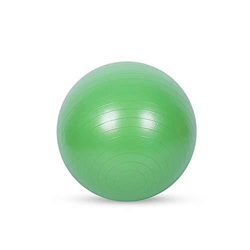 Pelota De Fitness, Pelota De Yoga A Prueba De Explosiones De 25-75 Cm Engrosada con Bomba Bola Suiza para Ejercicios De Embarazo Equilibrio FisiolóGico Pilates,Verde,55cm