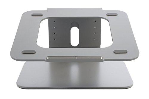Bramley Power - Soporte de Escritorio para computadora portátil de Altura Ajustable de Aluminio sólido para Apple Macbook Pro/Air y Todas Las computadoras portátiles (Altura Ajustable) (Espacio Gris)