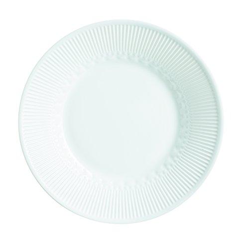 Luminarc L6347 6 Assiettes Creuses 23 cm-Alizee Perle, Blanc