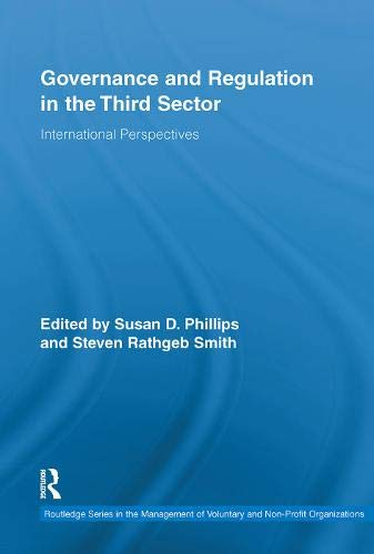 Governance and Regulation in the Third Sector: International Perspectives (Routledge Studies in the Management of Volunt