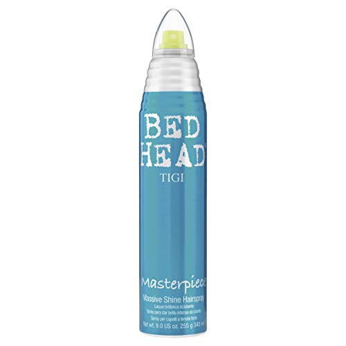 TIGI Bed Head Masterpiece Laque Brillance pour une Fixation Solide/Des Cheveux Brillants 340 ml