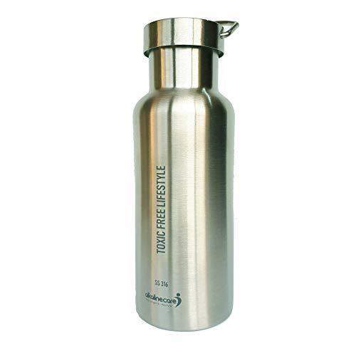 Alkaline Care Botella DE Acero Inoxidable 316: Eres lo Que Bebes