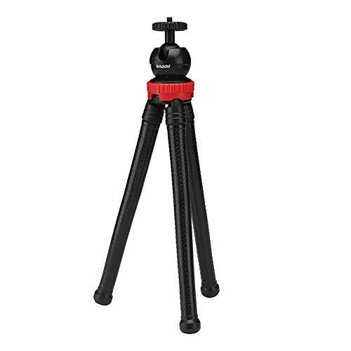 BMG Octopus statief, draagbaar telefoonstatief Anti-Skid ontwerp duurzame standaard 1/4 schroefinterface compatibel met DSLR webcam projector