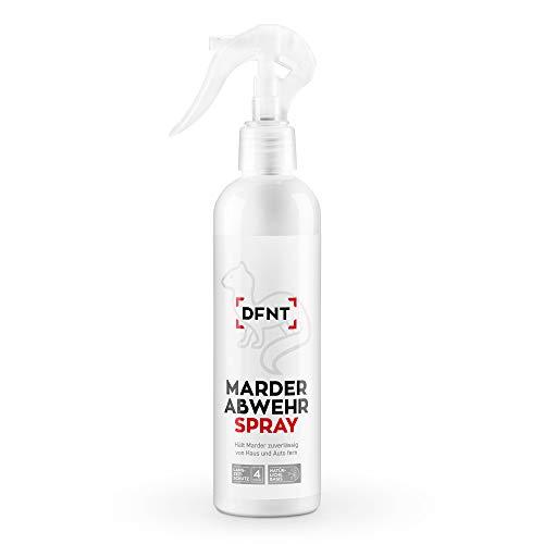 DFNT Marterafweerspray | 250 ml biologisch afbreekbare marterspray | Marterverschrikking & Marterval-alternatief | effectieve bescherming van de auto.