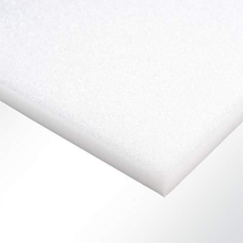Plastazote® LD29 Polyethylen PE Schaumstoff Hartschaumstoff weiß 100x50x5cm
