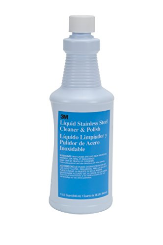 3M Liquid Stainless Steel Cleaner & Polish, Quart