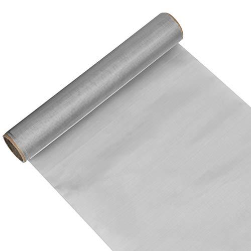 TIMESETL Maglia in Rete Metallica da 30 x 100 cm, Maglia in Acciaio Inossidabile 304 Foglio Filtro Filtro filtrante