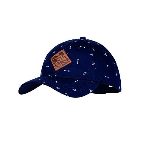 Buff Jungen Patterned Baseball Cap, Arrows Denim, One Size