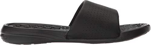 Under Armour Herren Men's Playmaker Fix Sl Beach & Pool Shoes Dusch- & Badeschuhe, Schwarz (Black 3000061-001), 46 EU
