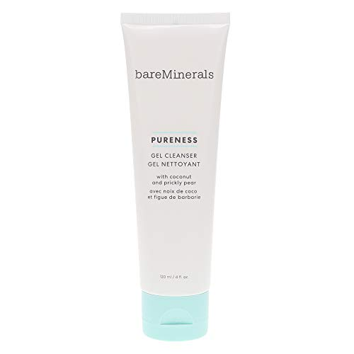 bareMinerals Pureness Gel Cleanser Coconut And Prickly Pear, 4 Ounce