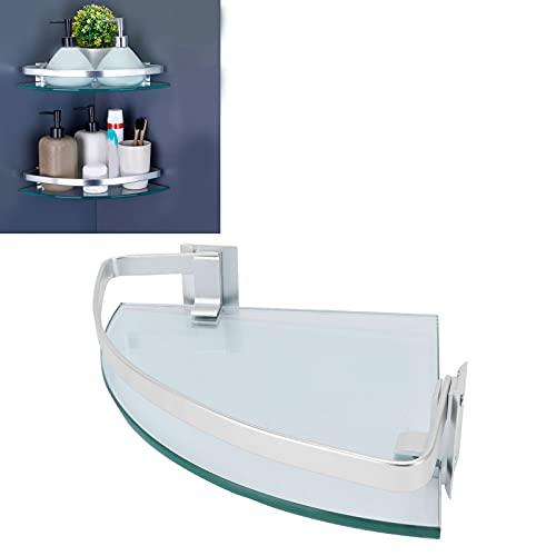 Estante de Vidrio Triangular, Estante de Vidrio de Gran Capacidad de Peso para ordenar los Espacios de Almacenamiento en baños, baños y cocinas para champú o Aceite de Oliva