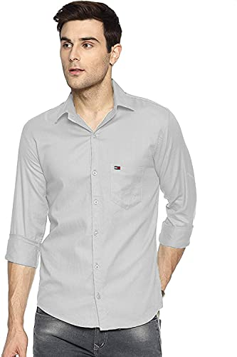 Airan Paradise Casual Shirts for Men Shirt its wear on Regular Basis and a Shirt 100% Cotton (XXX-Large, Grey, 3X_l)