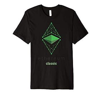 Ethereum Classic ETC Logo Cryptocurrency Premium T-Shirt