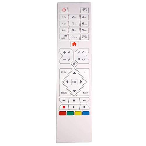 Blanco Genuino TV Control Remoto Repuesto para Antarion TVLT22DVDFRB2