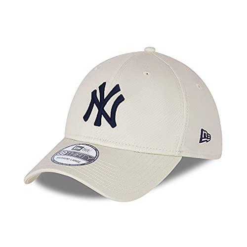 New Era MLB NEW YORK YANKEES League Essential Beige 39THIRTY Stretch Fit...
