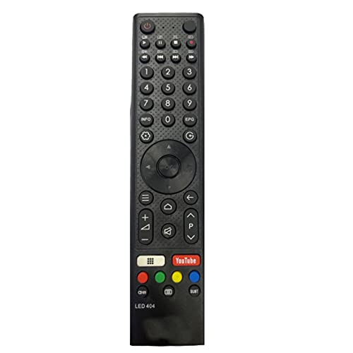 Electvision Remote Control for LED or LCD TV Compatible with Micromax 4k Smart Televisions (Please Match The Image with Your Existing Remote Before Placing The Order Before)