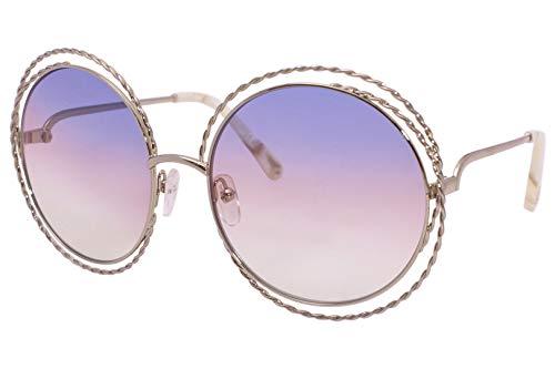 Chloè Ce114St 779 58 Montures de lunettes, Or (Gold/Rainbow Lens), Femme
