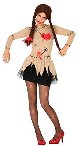 Fancy Me Wicked Costumes - Costume da Bambola Voodoo Sexy, da Donna, Taglia 40-46
