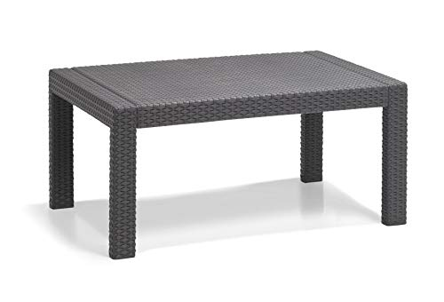 Allibert Merano Lounge Set, graphite/cool grey (poly cotton cushion) - 5