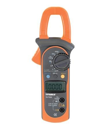 TENMA 72-7224 MULTIMETER, Digital, CLAMP, 3-3/4 Digit