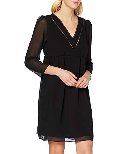 Naf Naf Lakeyli R1 Vestido, Noir, 36 para Mujer
