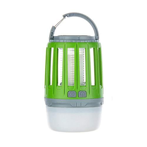 WYL Camping lantaarn LED muggenlamp draagbare outdoor tent licht zaklamp wandelen multifunctioneel outdoor waterdicht silent kroonluchter, groen