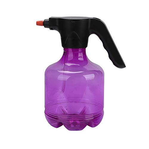 Wushu Generadores de Niebla Riego eléctrico de Regalo de huerto Pulverizador de riego para el hogar Riego automático 3L / 0.8 galones, 6.5 * 11.4 en (Color : Purple)