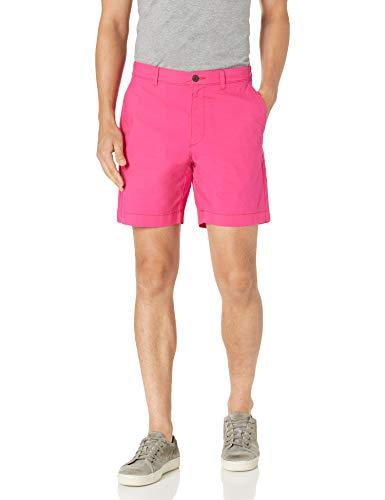 Amazon Essentials Slim-fit Lightweight Stretch 7' Short Pantalones Cortos Casuales, Rosa Brillante, 34W