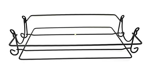 Temp-tations Wire Rack Replacement, Various Sizes (Black, 9x13, Square Corners)