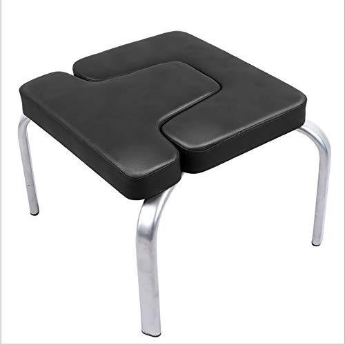Xrrxy Yoga Hocker, Yoga-Übung Chair Höherlegung Head Inversion Bench Chair Hocker Kopfsteher Prop Fitness Kit, Sportübung Fitness Bank, Entlasten Müdigkeit Und Bauen Körper