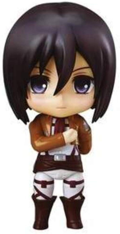 Attaque sur Titan Nendorid Mikasa Ackerhomme (non-échelle ABS & PVC peint figurines mobiles)