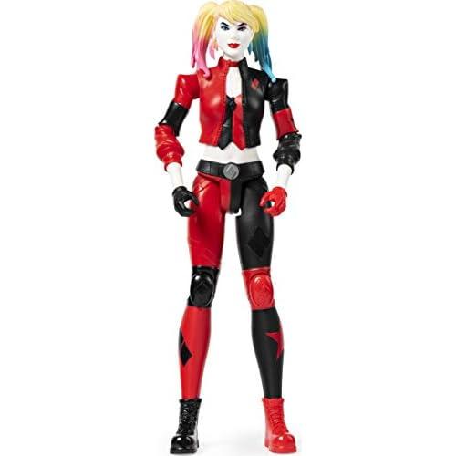 Batman Harley Quinn Personaggio da 30 cm Articolato, dai 3 Anni, 6056693