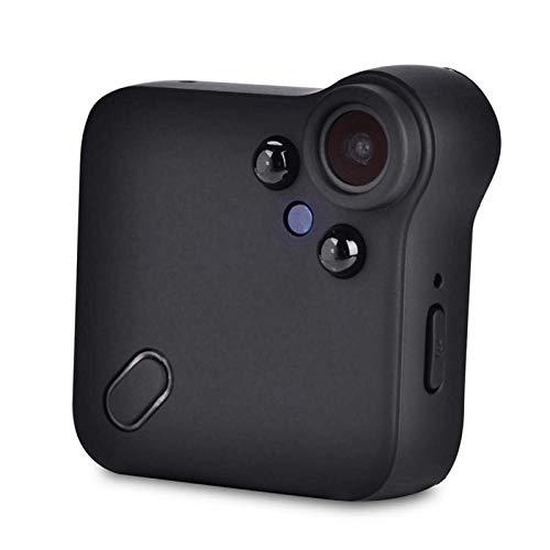 Cámara Deportiva Memoria Externa hasta 64G Mini cámara Video de Alta definición Admite grabación en Bucle, Tanto para Uso en Interiores como en Exteriores