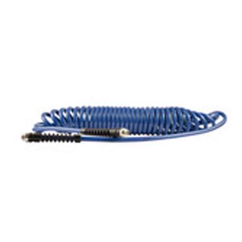 RIEGLER 136650 Tuyau spiralé à visser, protection anti-pliage, PU, tuyau Ø 9,5 x 6,3 cm
