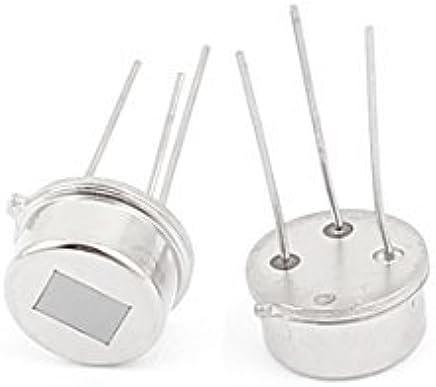 eDealMax 2pcs RE200B del Cuerpo humano IR Sensor de movimiento piroelectricidad DC 2.2-15V