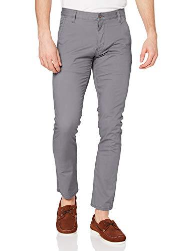 Dockers Alpha Original Khaki Skinny - Lite, Pantalones Hombre, Gris (Burma Grey), W36 L32