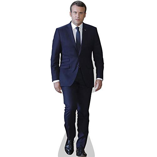 Celebrity Cutouts Emmanuel Macron Taille Mini