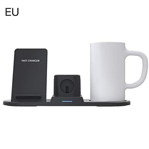 Kaffeemaschine Wireless Charger Coffee Heater Und Wireless Charger 2 In 1, Tassenwärmer, Elektrischer Getränkekocher Und Wireless Charger, Konstante Temperatur